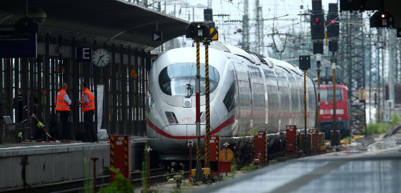 Glavna željeznička stanica u Frankfurtu