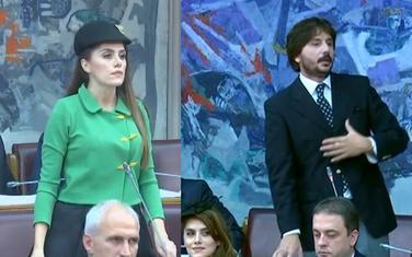 Aleksandra Vuković i Nikola Divanović
