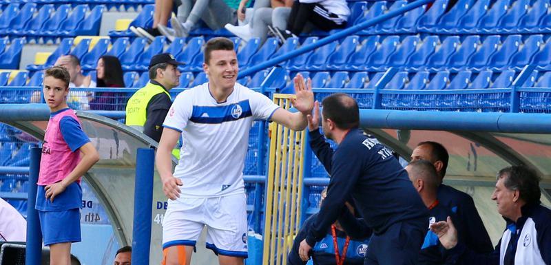 Osmajić je ušao sa klupe i izborio penal u prvom meču protiv APOEL-a