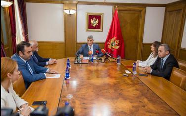 Članovi Savjet Agencije za sprječavanje korupcije sa Brajovićem
