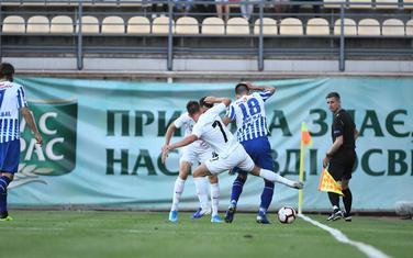 Sa utakmice u Zaporožju