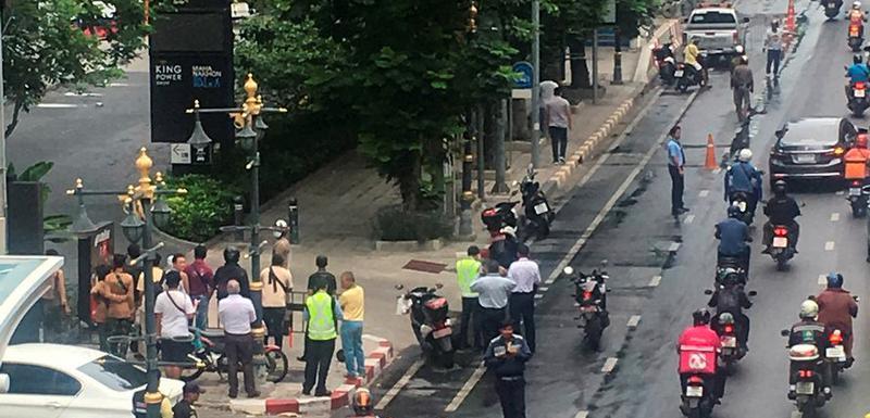 Građani na ulicama nakon jedne od eksplozija