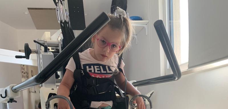 Iris je uz pomoć robotskih uređaja ostvarila svoje prve samostalne korake