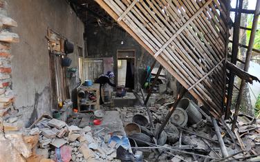 Posljedice zemljotresa u Pandeglangu u Indoneziji