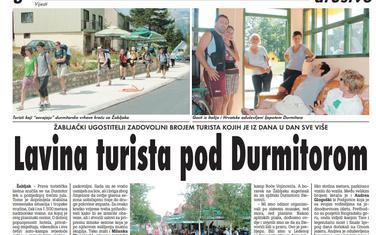 Vijesti, 3. avgust 2009.