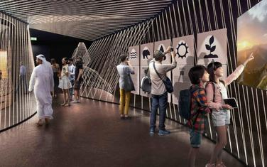Paviljon CG na EXPO 2020, rendering