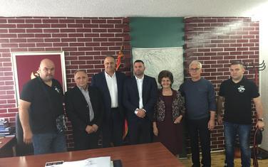 Delegacija iz Gložana kod predsjednika Opštine Žabljak Veselina Vukićevića