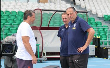 Božović sa pomoćnikom Vojom Ćalovom