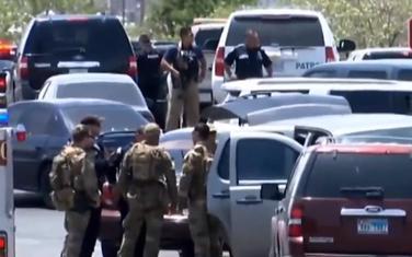 Policija u blizini mjesta pucnjave