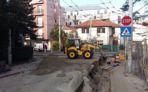 Ugao ulicâ Kruševačke i Gospodara Vučića