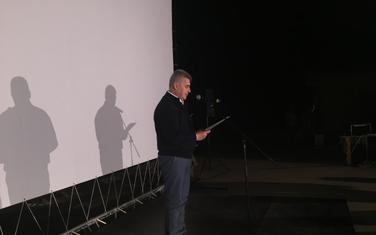 Ivan Brajović na otvaranju