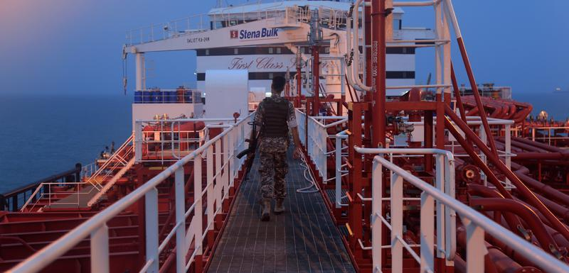 """Ranije zaplijenjeni tanker """"Stena impero"""""""