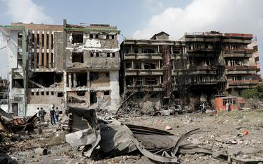 Detalj iz Kabula nakon jednog od prethodnih napada