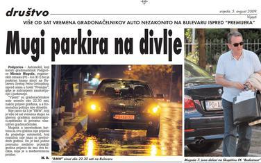Vijesti, 5. avgust 2009.