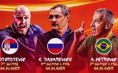 Treneri koji su već osvajali medalje na svjetskim prvenstvima