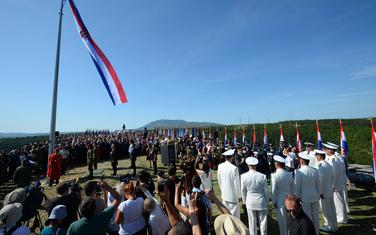 Sa današnje ceremonije u Kninu
