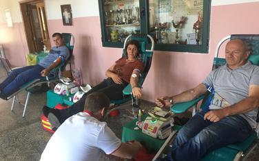 Sa akcije dobrovoljnog davanja krvi na Žabljaku