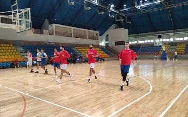 Sa treninga košarkaša u Kolašinu