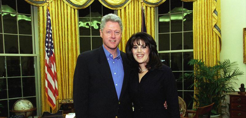 Klinton i Levinski u Bijeloj kući