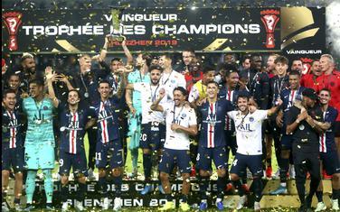 Fudbaleri PSŽ slave pobjedu u Super kupu Francuske