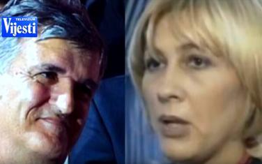 Svetozar Marović i Olivera Ilinčić