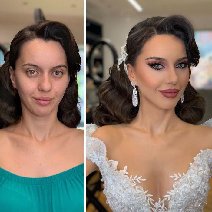 Prije i poslije (foto: arber_bytyqi_mua)
