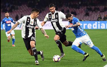 Sa meča Napoli - Juventus