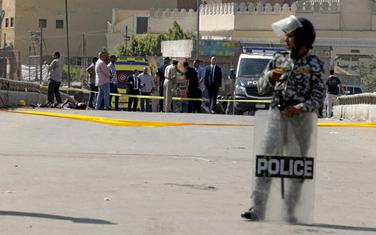 Pripadnik egipatske policije (Ilustracija)