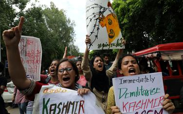 Protesti za Kašmir