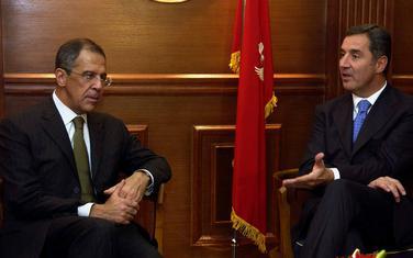 Bogata istorija bilateralnih odnosa: Lavrov i Đukanović