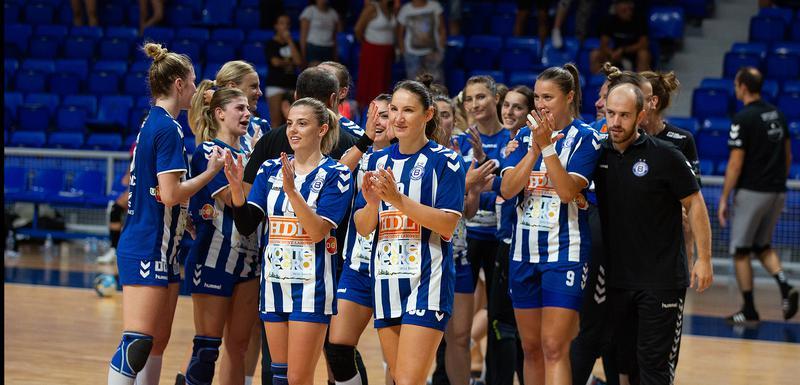 Rukometašice Budućnosti (Foto: Dejan Starčević)