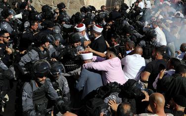 Današnji sukobi u Jerusalimu