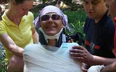 Zadobila povredu ramena