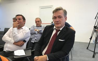 Vladimir Bulatović (desno)