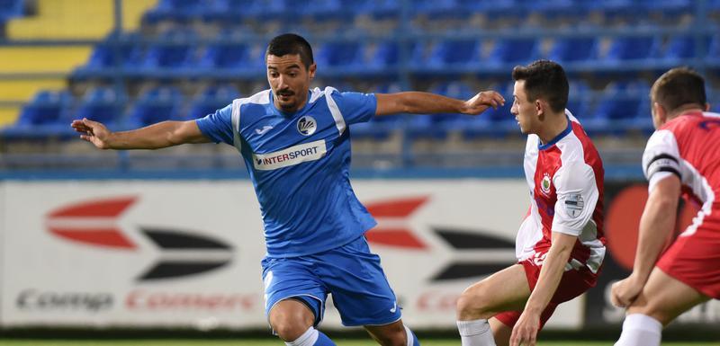 Marko Ćetković na prvoj utakmici Sutjeske i Linfilda