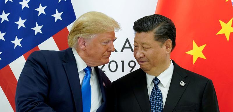Predsjednik SAD Donald Tramp i kineski predsjednik Si Đinping