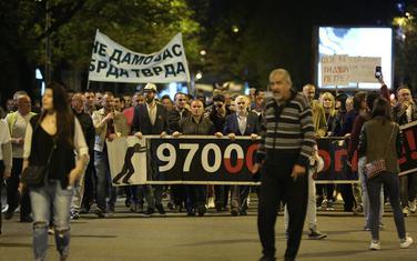 """Sa protesta """"Odupri se 97.000"""" u Podgorici"""