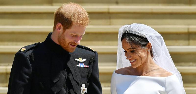 Princ Hari je nosio uniformu tokom venčanja
