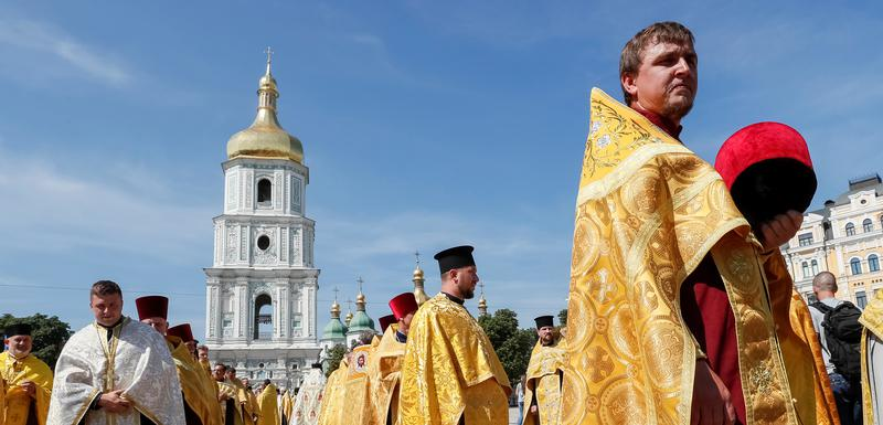 Sveštenici Pravoslavne crkve Ukrajine