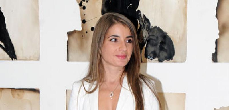 Jedna od predstavnika crnogorske umjetnosti na izložbi:  Milka Delibašić