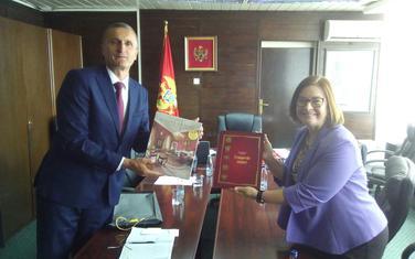 Ambasadorka SAD sa predsjednikom Opštine Kolašin