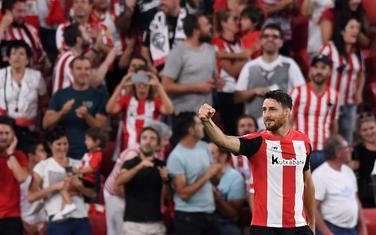 Aduriz slavi gol za pobjedu