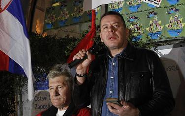 """Georgijev govori na protestu """"Jedan od pet miliona"""" u martu"""