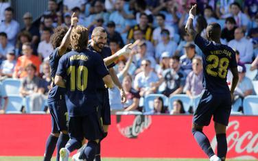 Igrači Reala slave prvi gol u Vigu