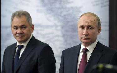 Šojgu i Putin