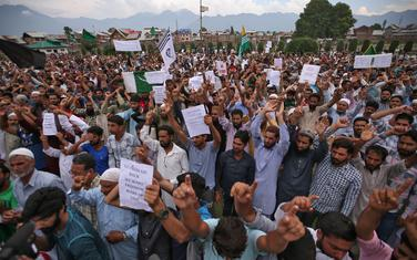Protesti u Kašmiru