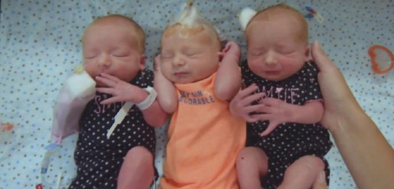 Rodila dvije djevojčice i dječaka