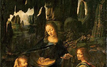 """Pariška verzija slike """"Bogorodica među stijenama"""""""