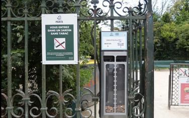 Zabrana pušenja na otvorenom odnosi se na oko deset odsto parkova u Parizu