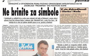 Vijesti, 20. avgust 2009.